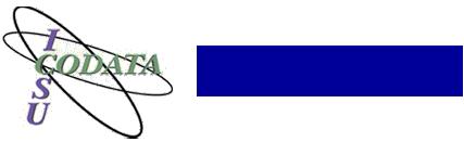 Logo a partir do site http://www.codata.org/